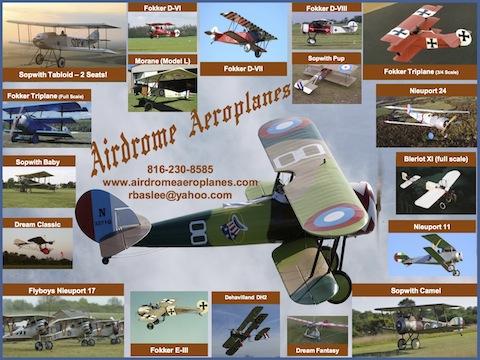 Airdrome Aeroplanes ~ Holden, MO